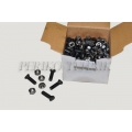 Bolt+nut for S-tine share M10x37, 100 pcs